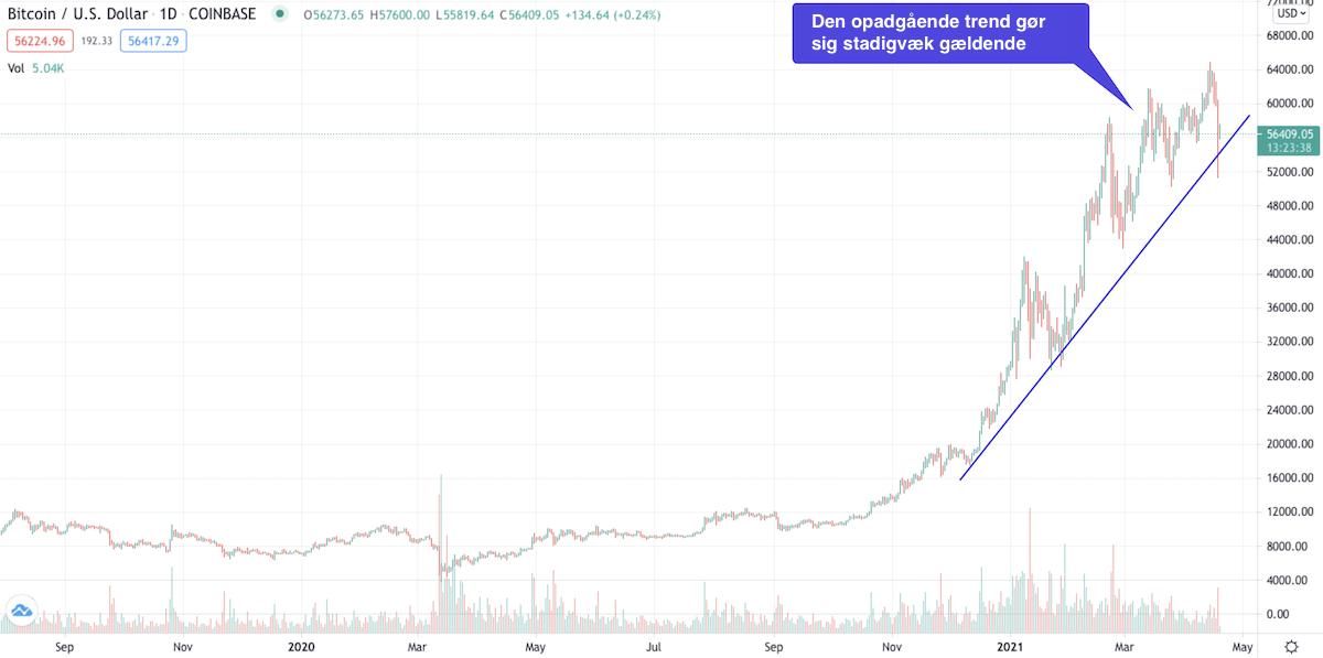 Bitcoin Kurs Tendens 2021