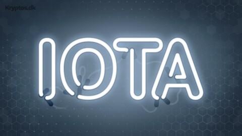 Hvad er IOTA?