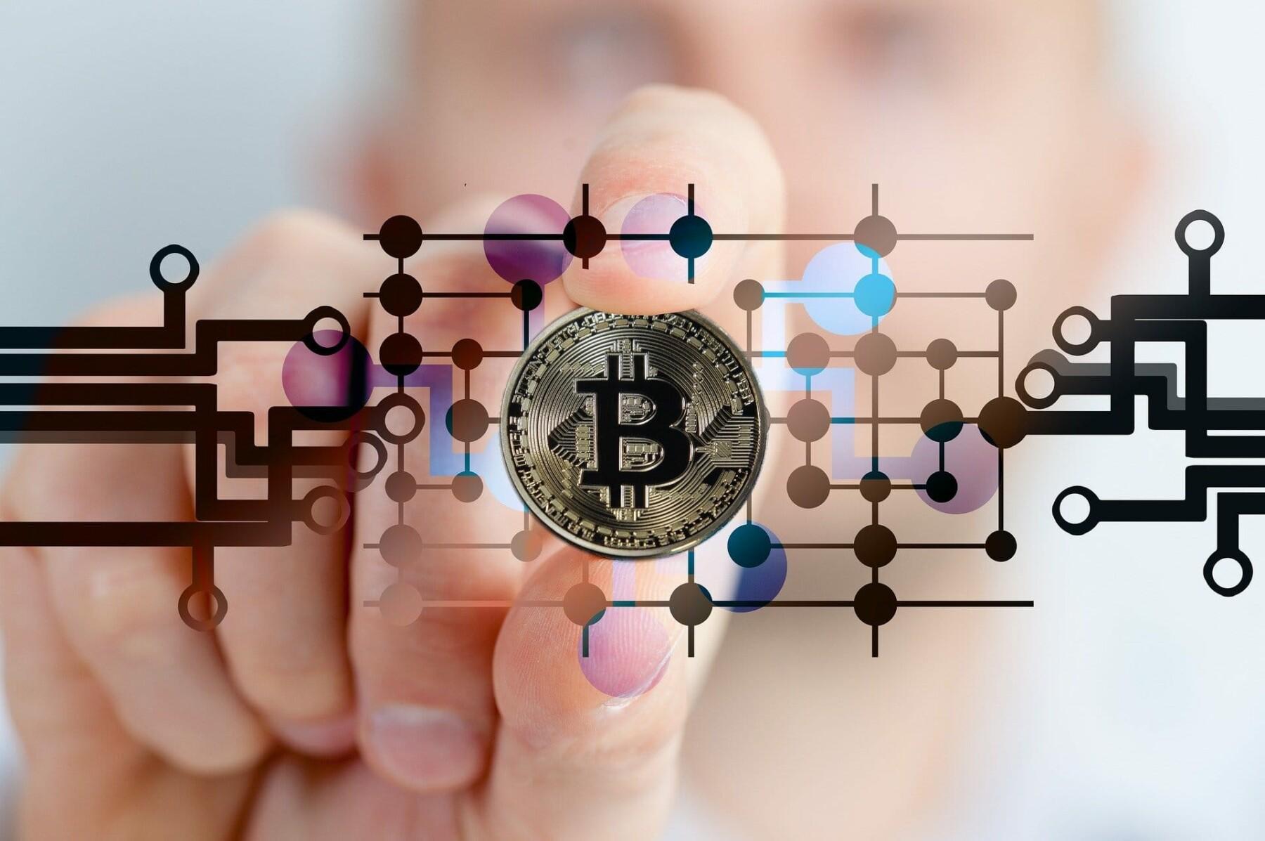 Bitcoin Wallets (billedet er fra Gerd Altmann på Pixabay)