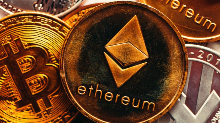 Ethereum og Bitcoin